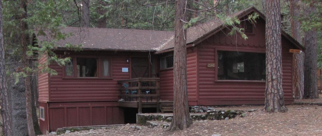 River Cabin exterior